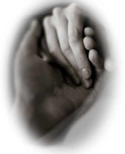 image of hands clasped