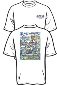 Moonlight Masquerade 2014 Tee Shirt